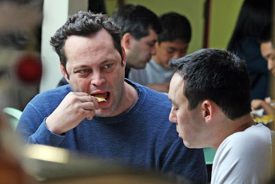 vince vaughn eating