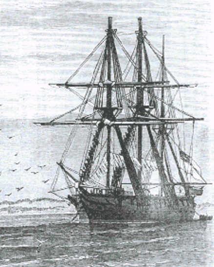 HMS Niger at Vera Cruz