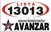 MOVIMIENTO AVANZAR 13013