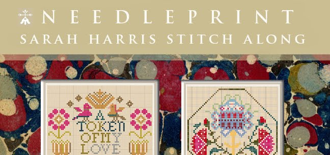 Needleprint Sarah Harris Stitchalong