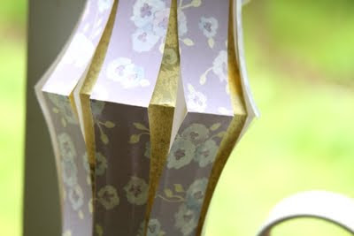 make summer paper lanterns