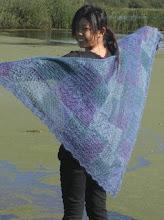 Dette sjal har jeg strikket, /I already made this shawl