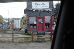 the donnely chamber of commerce or a java-hut - not really sure