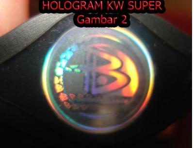 power balance yang palsu gak ada tulisan authentic hologram palsu