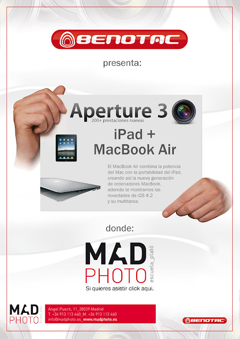Aperture 3 iPad+MacBookAir