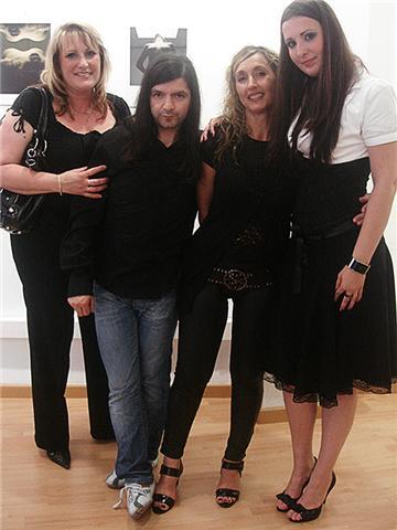 Exposicion de fotografia de mi amiga  la artista checa Eliska Fischerová