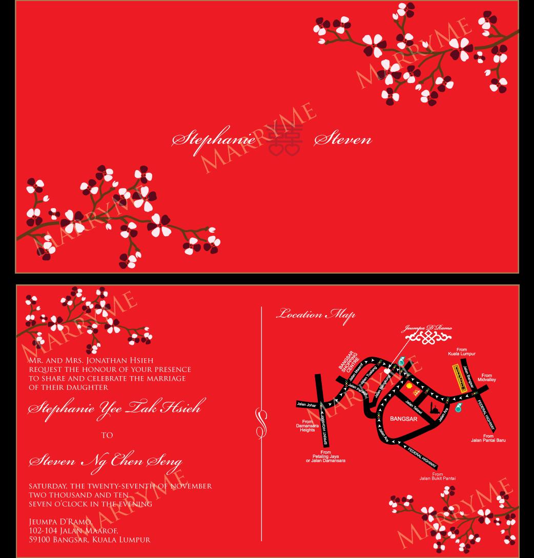 Wedding Invitation Card Chinese ~ Matik for .