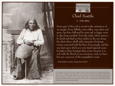 an analysis of native american wisdom by chief seattle About the chief seattle speech essays on native american literature, brian swann and arnold krupat (eds), berkeley: university of california press.