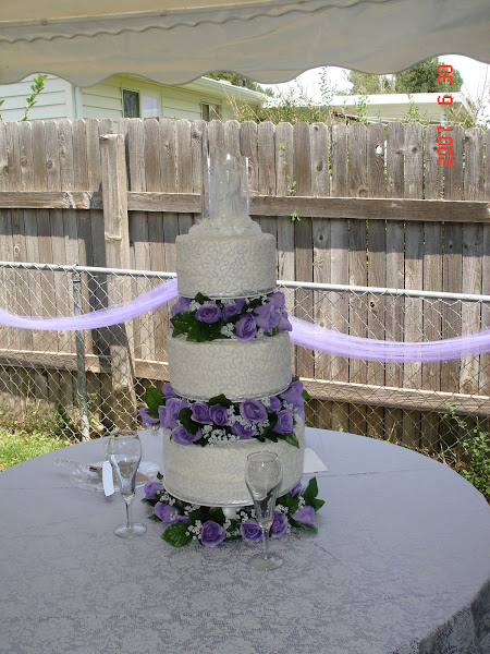 Melanie's Wedding Cake!