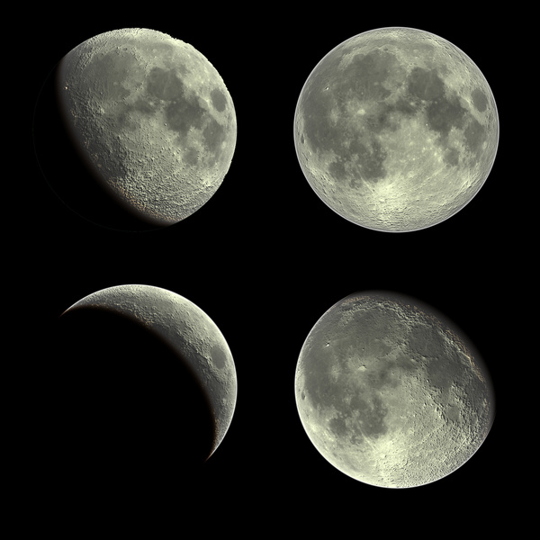 moon phases in order. moon phases in order.