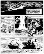 Página publicada en la vieja Fierro, dedicada a la Guerra de Malvinas, . guerra malvinas barreiro