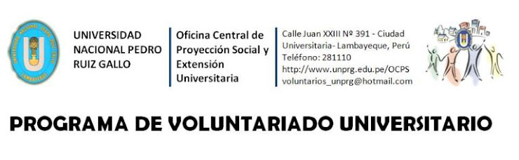 Programa de Voluntariado Universitario UNPRG