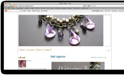 resize blogger banner