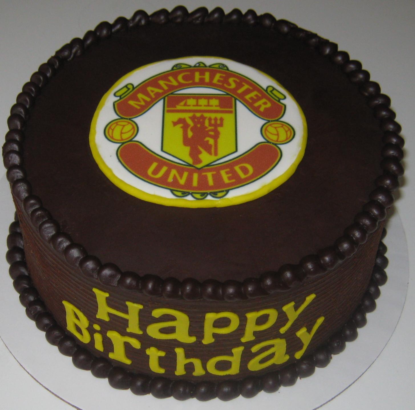 Sweet T s Cake Design: Manchester United Soccer Team ...