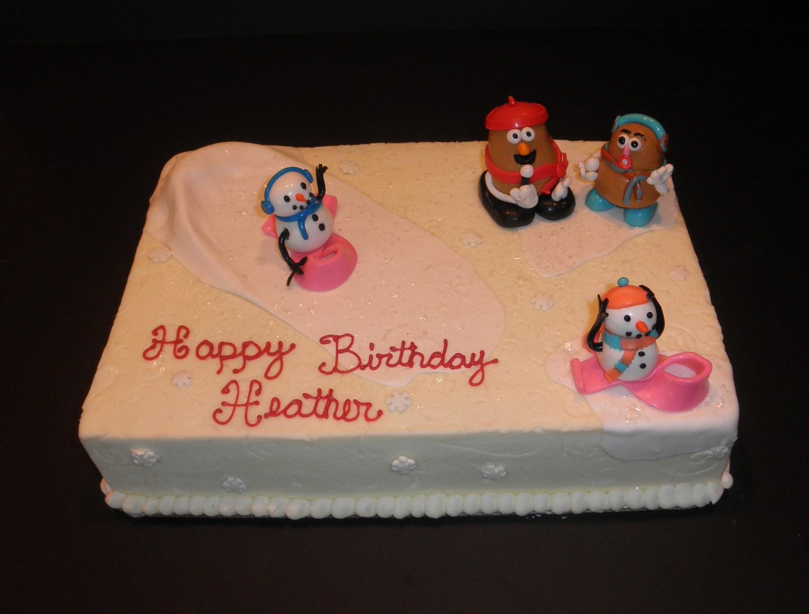 Sweet Ts Cake Design Mr Mrs Potato Head Birthday Cake