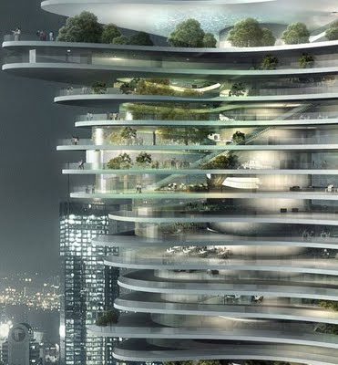 4 - Awesome Skyscraper Urban Forest In Chongqing China