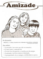 1 ? Valores Amizade para crianças