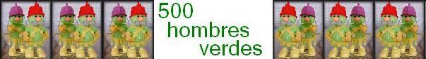 500 hombres verdes