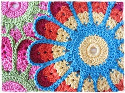 Free DIY tuto crochet flower Synnove Olava - tutorial tutoriel crochet fleur