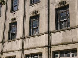 Visión de las ventanas del Hotel