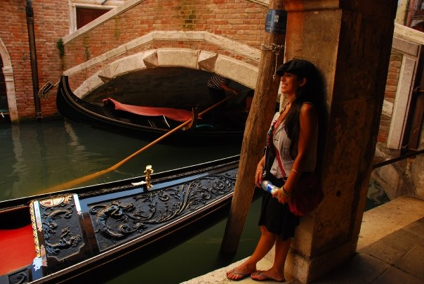 bambina argentina en Venezia