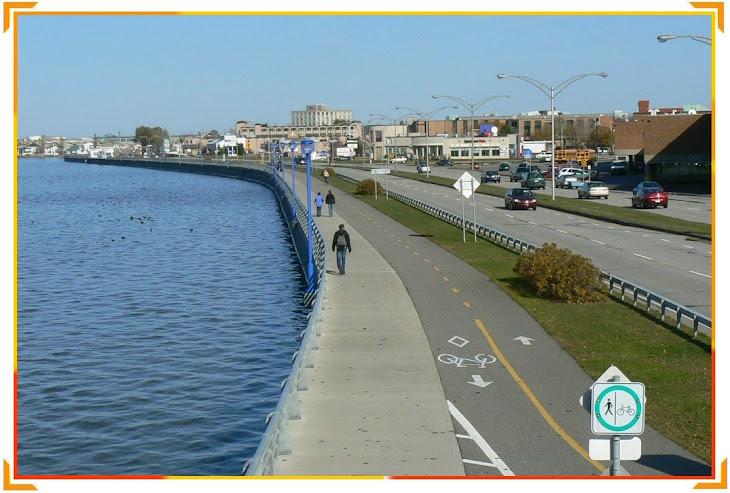 Promenade de la mer à Rimouski