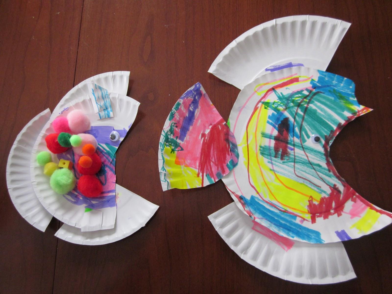 Поделки из одноразовых бумажных и пластиковых тарелок 17