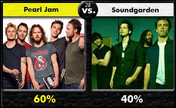 Pearl Jam vs. Soundgarden