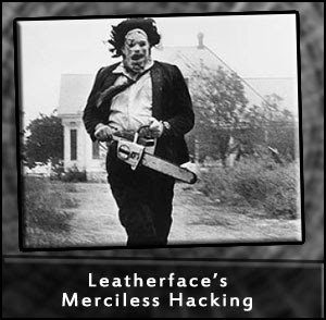 Leatherface is a Dick