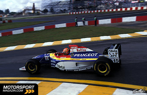 GP do Brasil em Formula 1 em Interlagos de 1995 - continental-circus.blogspot.com