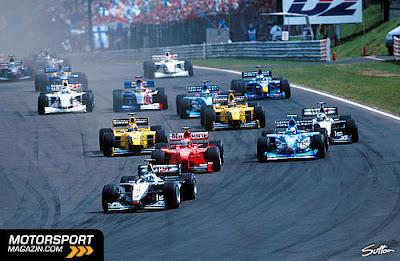 GP da Hungria de Formula 1 , Budapest, Hungaroring, em 1999 - continental-circus.blogspot.com