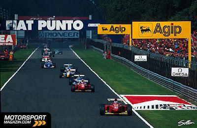 GP da Itália de Formula 1, Monza, em  1994 - motorsport.com
