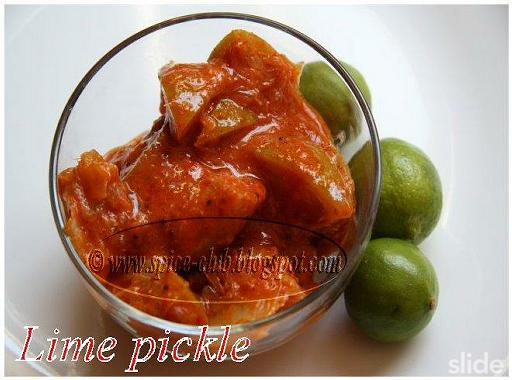 Lime pickle recipes