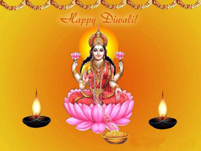 Happy Diwali - Maa Laxmi - Bihar Information Directory