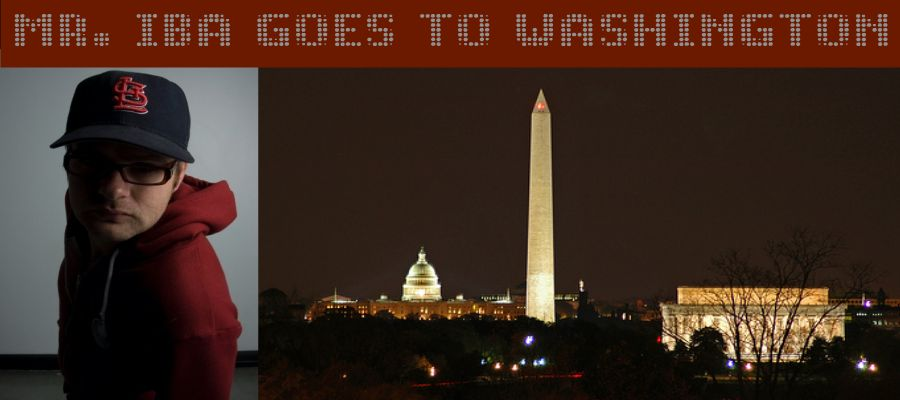 Mr. Iba goes to Washington
