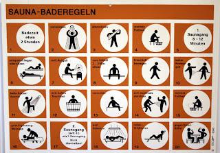 sauna rules