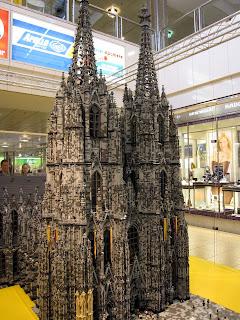 Kolner Dom made out of Lego