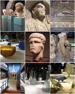 Roman Museum collage
