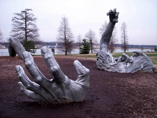 the awakening sculpture