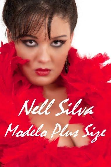 Nell Silva  Modelo Profissional  Plus Size