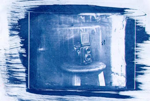 Fotografía Azul, Cianotipia