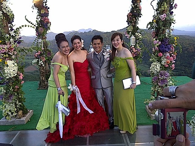Ogie and regine wedding