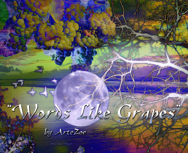 Words Like Grapes by ArteZoe