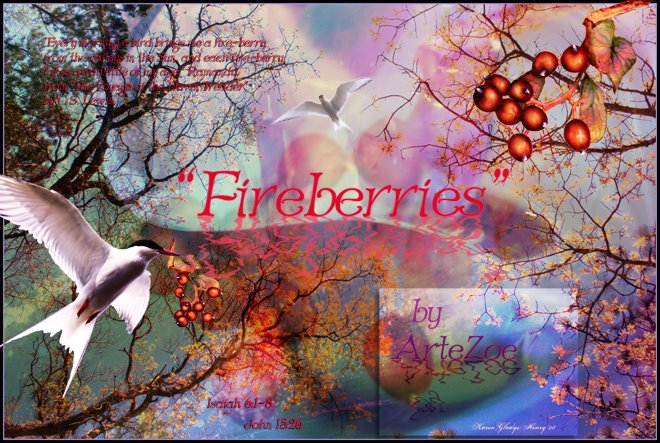 Fireberries by ArteZoe