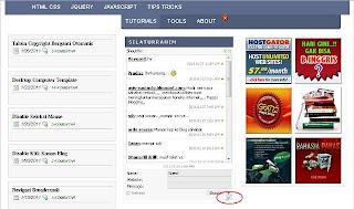 menghilangkan tanda obeng dan tang widget blogger