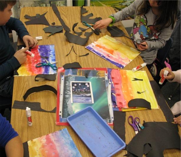 Welcome To Ms Wagner S Elementary Art Studio: The David Lubin Art Studio: 3rd Grade Western Watercolor Sky