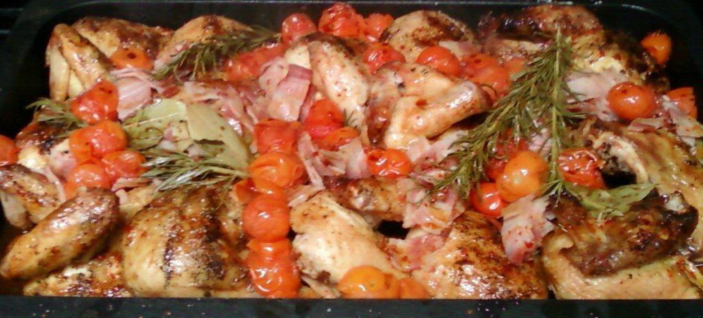 Las recetas de l 39 ngel receta n 121 pollo asado en horno - Como cocinar en horno de lena ...