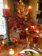 Japanese Maple-inspired Autumn dining...