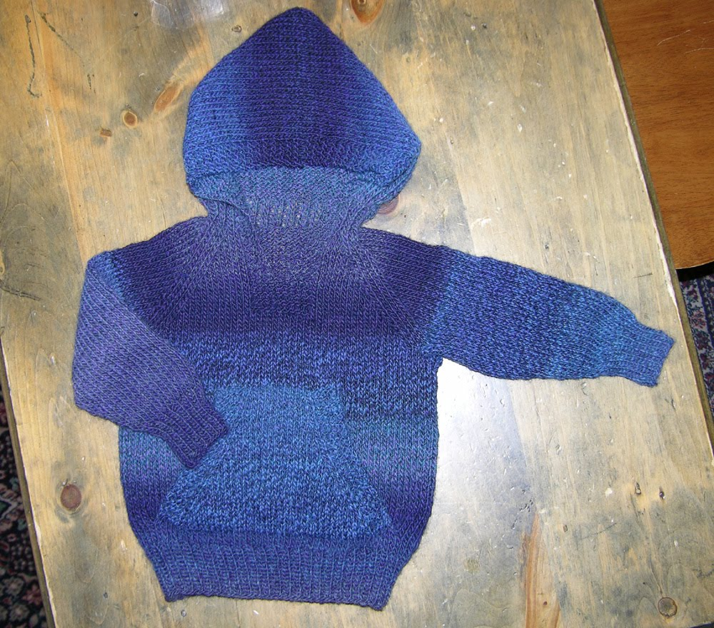 Knitting Pattern For Wallaby Sweater : kyarns: Wonderful Wallaby review