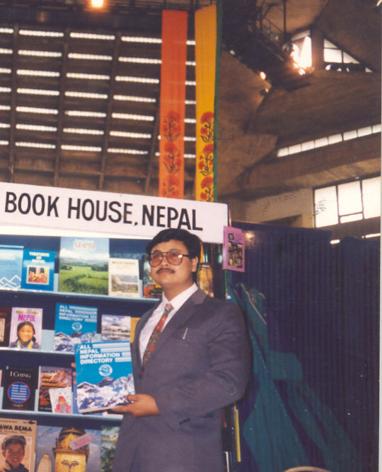 Participation in International Book Fair, New Delhi, December 1993
